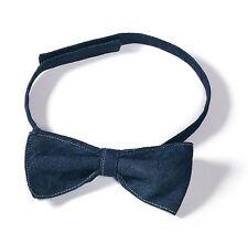B&C Bow-Tie PAPILLON 100% Cotton TWILL DENIM Jeans CRAVATTA Unisex COTONE #