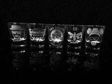 Breaking Bad Inspired Shot Glass Set of 5 Los Pollos Hermanos