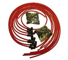 Taylor Universal Red StreeThunder 8 MM Spark Plug Wire Set 90 Degree Boots V8