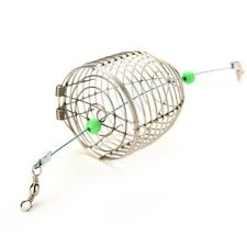 Useful Fish Small Bait Cage Stainless Steel Cage Fishing Lure Cage N2C