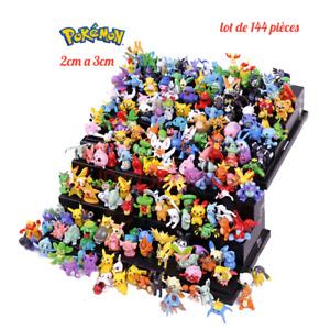 Figurine Pokemon Jouet Jeux Pikachu Personnage lot pack de 144 Piece pour Enfant