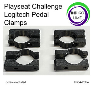 Playseat Challenge Logitech Pedal to Frame clamps. G923. G29. G920. G27. G25.