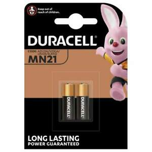2 Piles MN21 / A23 / V23GA Duracell Alcaline 12V