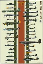 WW II - Photo --  German Planes Of WW2