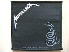 Metallica Black Album Aufnäher Patch Trivium Death Angel Ghost Iron Maiden