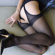 sexy Tights Crutchless Crotchless lace edge pantyhose