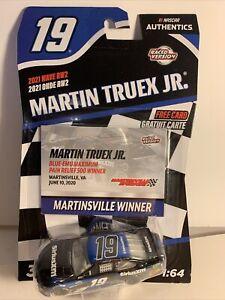 Martin Truex Jr Nascar Authentics 2021 Wave RW2 1:64 Martinsville Winner New
