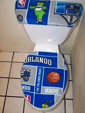 ORLANDO MAGIC FLEECE TOILET SEAT COVER SET