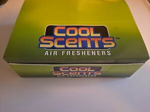 California Scents Cherry Cool Scents Air Fresheners X 12 Full Box Free Shipping