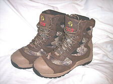 Mens 10 Camo Hunting Boots Insulated Boots 1200g Waterproof Boots Mossy Oak Camo