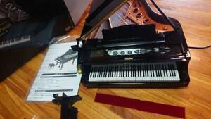 Sega Toys Grand Pianist black Keyboard instrument Automatic performance Used
