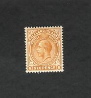 Falkland Islands SC #34  Six Pence  MH stamp