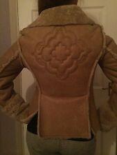 DIESEL sheepskin bomber jacket Ladies M , LIMITED EDITION, Genuine