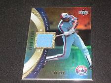 ANDRE DAWSON HOF LEGEND GAME USED CERTIFIED AUTHENTIC JERSEY CARD RARE #86/99