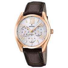 0a989612f954 Relojes de pulsera Clásico de piel oro rosa