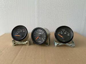 VDO Zusatzinstrumente Temperaturanzeige und Manometer Audi VW BMW