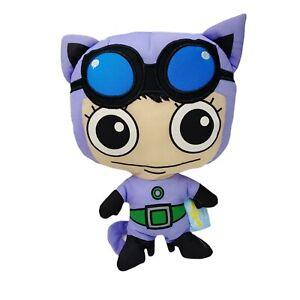 Movie World Gold Coast Warner Cat Woman Batman Soft Stuffed Toy Washed 26cm