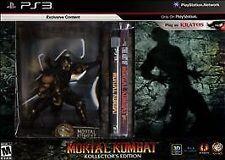Mortal Kombat -- Collector's Edition (Sony PlayStation 3, 2011)