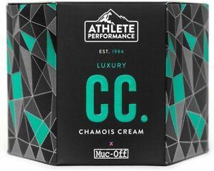 Muc-Off Luxury Chamois Cream 250ml Moisturising Anti-Chafe Anti Bacterial Cycle
