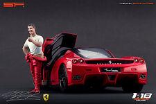 1/18 Michael Schumacher ferrari figure VERY RARE !!! for 1:18 Autoart Minichamps