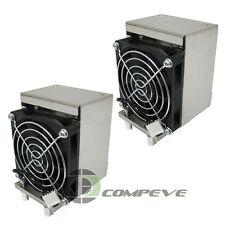 2x HP XW8400 XW6400 Workstation Heat Sink With Fan 398293-001 398293-002