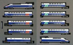 Kato 10-1529 TGV Reseau Duplex 10 Cars Set (N scale)