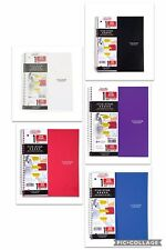Five Star 1 Subject Wide Ruled Spiral Notebook Assorted Colors