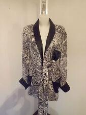 BILLIONAIRE Italian Couture vestaglia Uomo Silk  size M  € 1.510,00