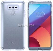 Transparent Clear Silicone Slim Gel Case And Screen Protector For LG G6