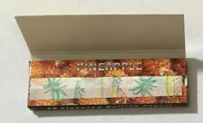 NEW - PACK OF 50 HORNET - (PINEAPPLE FLAVOURED) ROLLING PAPERS - 1 1/4""