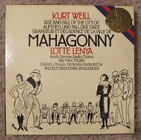 KURT WEILL Mahogany 3 LP Box Set NM / 1983 CBS 77341
