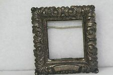 VINTAGE RARE CINI STELRING SILVER TABLE FRAME PIN