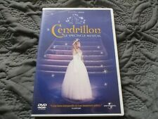 """DVD """"CENDRILLON, LE SPECTACLE MUSICAL"""" comedie musicale"""