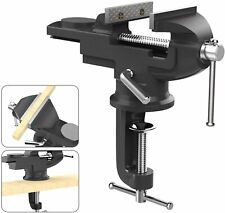 New ListingNuovoware Universal Table Vise w/ 360° Rotating Swivel Base Clamp-on Woodworking
