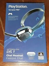 NIP Playstation PS4 - Afterglow LVL 1 Chat Headset! Free Shipping!