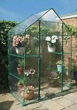 Portable Outdoor 4 shelf Grow House Walk in Greenhouse with PVC Cover FAST 🚚☀