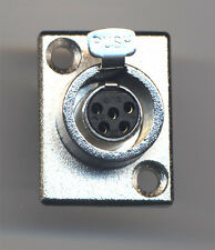 5 pin Female Mini XLR Audio Microphone TY5F Chassis match TA5M