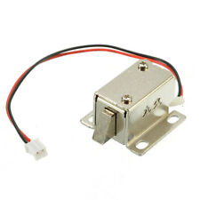 Electronic Lock Latch Door Gate DC12V 0.4A Electric Release Assembly Solenoid
