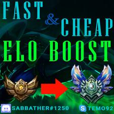 League of Legends Elo Boost   Cheap   LoL Account   EUW/EUNE/Russia/Turkey