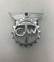 TRANSPORT AND GENERAL WORKERS UNION LAPEL BADGE VINTAGE STEEL