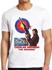 The Mechanic Film Poster Charles Bronson Death Wish Cool Gift Tee T Shirt M255
