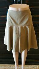 Lafayette 148 Keana Yoke-Waist Flutter Skirt, Sz 4  Retail $348
