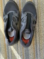 Nike LUNARGLIDE+3 454164-007 Men's Black Size 10.5 Used No Laces Rough But Zoom