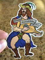 Exclusive Jethro Tull Minstrel In The Gallery Vintage Decal Sticker Ian An