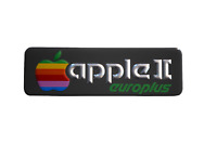 Refurbished Apple II Europlus Computer Badge Emblem