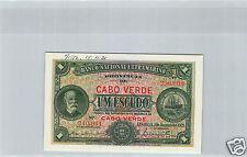 Cap Green Cancel 1 Escudo 1.1.1921 N°240001/290000 Pick 32 S