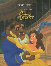 SOTHEBY'S ANIMATION ART THE BEAUTY AND THE BEAST DISNEY Auction Catalog 1992