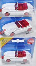 Siku Super 1320 Wiesmann MF5 Roadster, reinweiß, innen rot, ca. 1:53, P28, OVP
