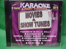Movie & Show Tunes ~ Karaoke Chart Toppers~11 ~Over the Rainbow ~ Tomorrow ~CD+G
