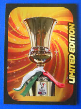 RARA CARD CALCIATORI PANINI ADRENALYN 2012/13 - TROFEO TIM CUP - LIMITED EDITION